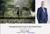 Recorded Webinar: Transparency and Trust in Food Chains