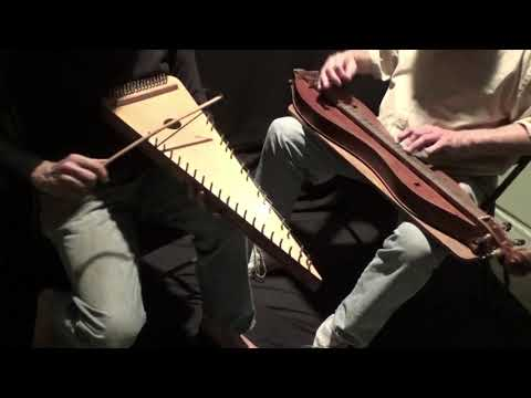 """THE PEACOCK'S FEATHER"" on Dulcimer & Bowed Psaltery"
