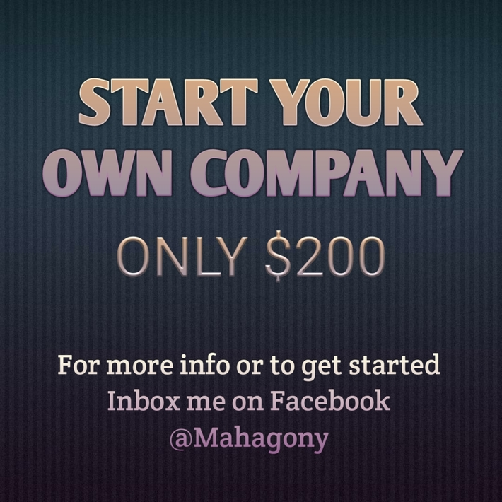 Start Your Company!