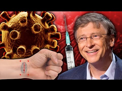Bill Gates COVID-19 Vaccine & Microchip Implant   Is This the Mark of the Beast?
