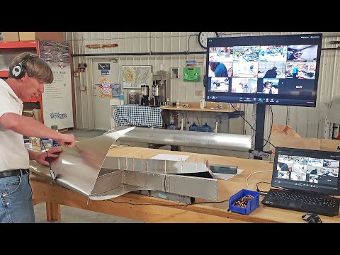 Behind the scenes look at Zenith Aircraft's Virtual Workshop Class