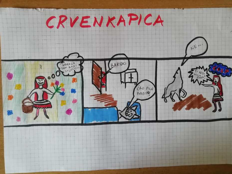 CRVENKAPICA - 1. kolokvij
