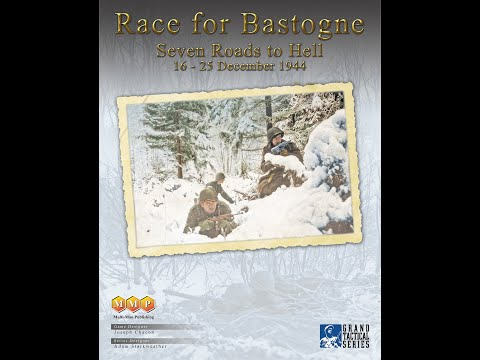 Race for Bastogne: Seven Roads to Hell [GTS] (16-25 December 1944) [Preview] [MMP - Pre-order]