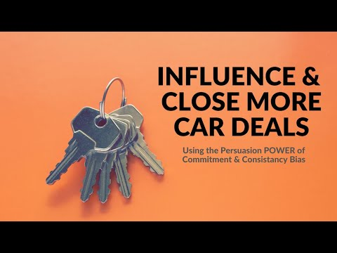 Influence & Close More Car Deals