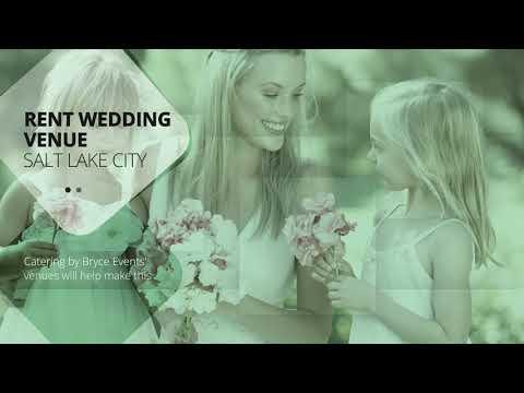 Wedding Venue to Rent near Salt Lake City