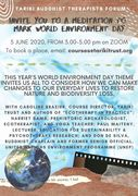 Tariki World Environment Day poster