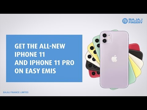 Buy your iPhone 11 series on easy EMIs with Bajaj Finserv today