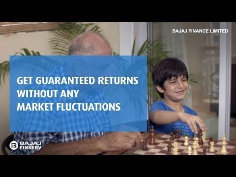 Guaranteed Returns on Bajaj Finance Fixed Deposit