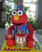 Elmo - Icing Smiles Cake