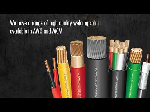 2, 4 & 6 AWG Welding Cable Specialist 800 262 1598