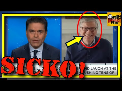 Watch Bill LITERALLY Laugh at the DESTRUCTION of MILLIONS on CNN!