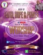 Hour of Faith,  Hope and Power!!!