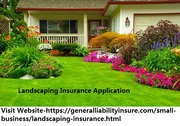 Landscaping Insurance Application