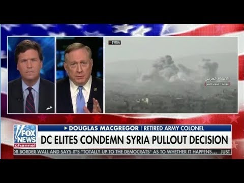 Tucker Carlson 12/21/2018 Syria Pullout DC Elites Outraged by Syria Pullout