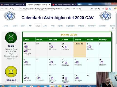 Guia Astrologica del 02/05/2020