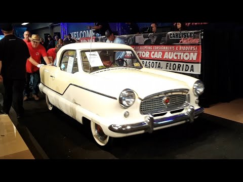 1962 Metropolitan Gets the Crowd Shouting At the 2019 Fall Carlisle Auction