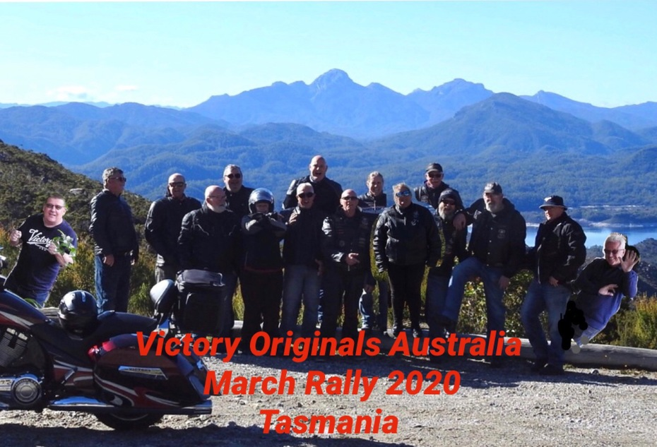"""Victory Originals Australia""  march 2020 annual rally Tasmania"