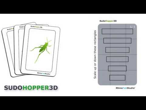 SudoHopper3D: Assignment 6, copy and scale rectangles
