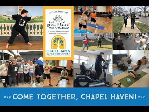 Great Give 2020: Help Chapel Haven educe social isolation and Come Together, Chapel Haven!