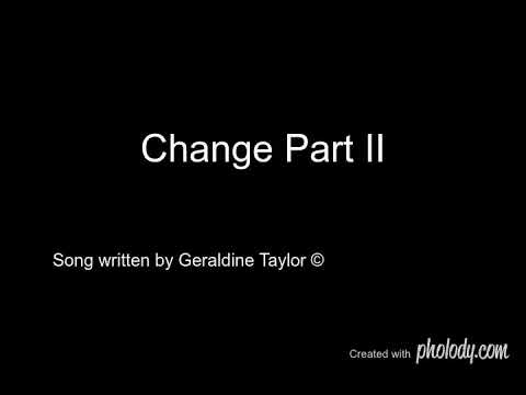 Geraldine Taylor - Change Part II