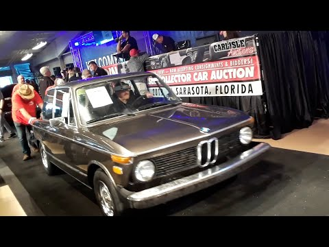 BMW 2002 Crosses the Block At the 2019 Fall Carlisle Auction