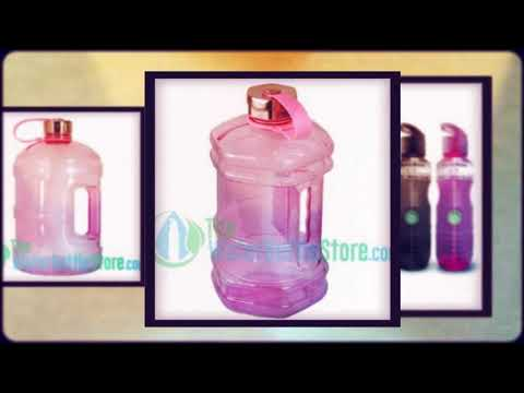 Reusable Pink Water Bottles