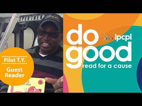 Pilot T.Y reads and flies for a Cause - Guest Reader