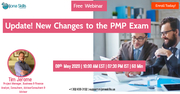 "Free webinar: ""Update! New Changes to the PMP Exam"""