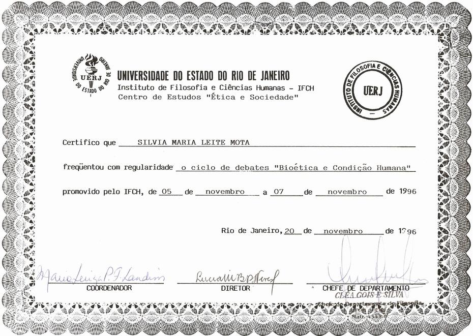 1996-UERJ_Bioética_e_Condição_ Humana