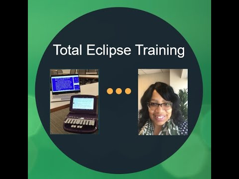 Total Eclipse Software:  Foundation Training for Court Reporters and Scopists
