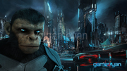 3d-ape-and-city-background-movie