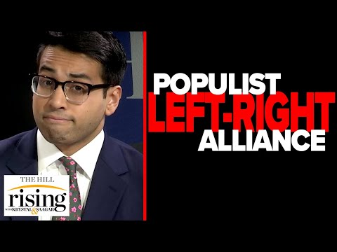 Saagar Enjeti: The woke left FREAKS at my suggestion of Populist left-right alliance