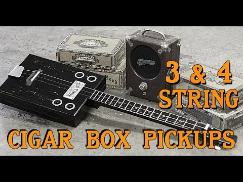 Cigar Box Guitar Pickups  For Sale - 3 & 4 string Americana