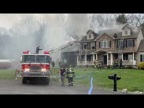 Multi-Department Structure Fire Burns Garage