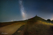 Milky way from Monte fasce
