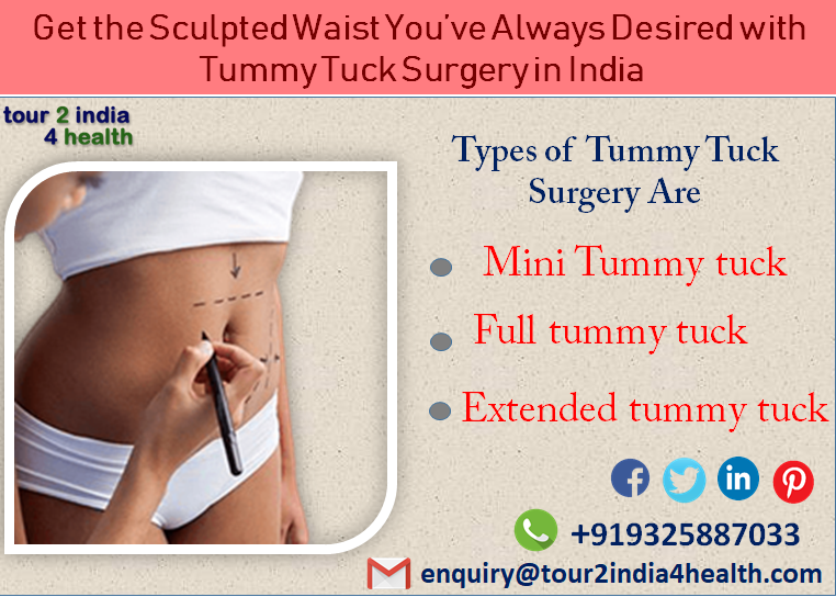 Get the Sculpted Waist You've Always Desired with Tummy Tuck Surgery in India