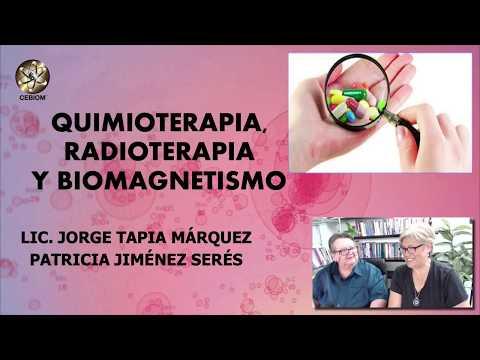 QUIMIOTERAPIA, RADIOTERAPIA, PAR BIOMAGNÉTICO Y BIOMAGNETISMO Jorge Tapia Márquez