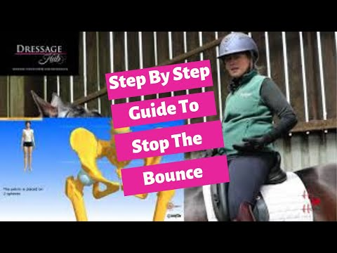 How To Ride Sitting Trot Without Bouncing - No Stirrups