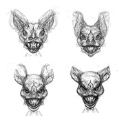 Eric Wayne's bat woman studies