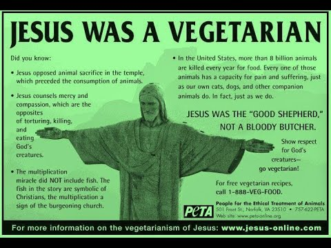Vegetarian Sayings of Jesus -- Today on Spiritual Awakening Radio
