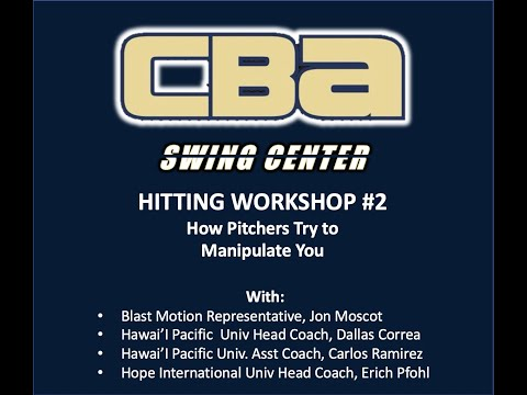 Swing Center Workshop #2 | Pitcher-Manipulation