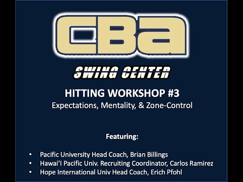 Swing Center Workshop #3 | Mentality & Zone-Control