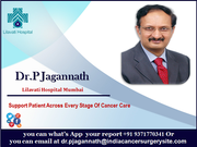 Dr. Jagannath Support Patient Across Every Stage Of Cancer Care