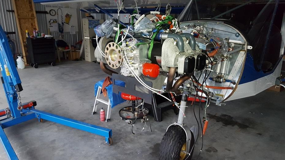 Engine is on...