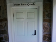 Radnor door admonition