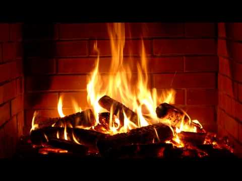 Fireplace - Full HD - 10 hours crackling logs for Christmas