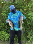 Let a Few Bass Taxi Back To The Landing For Photos Before Release......5/16/2020