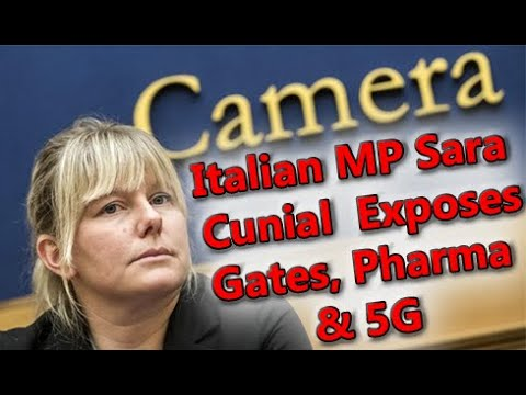Italian MP Sara Cunial Speaks the Truth About Covid-19