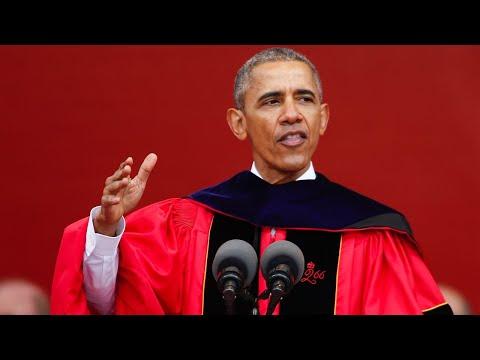 WATCH: Barack Obama delivers commencement speech to high school graduates amid coronavirus pandemic
