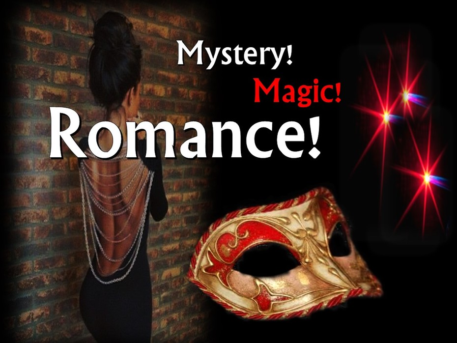 Don't miss a moment of Romance A night of Mystery-The DeceiveSecret 2018-magic
